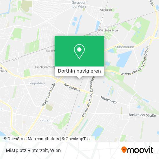 Mistplatz Rinterzelt Karte