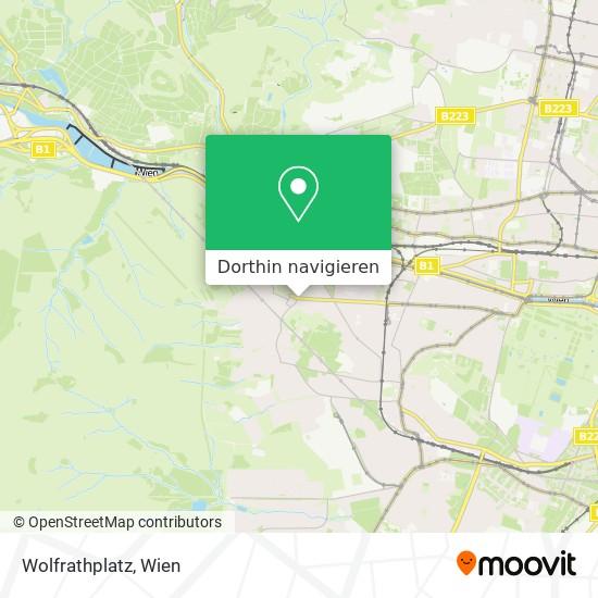 Wolfrathplatz Karte
