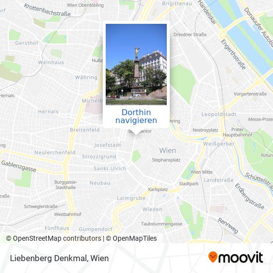 Liebenberg Denkmal Karte
