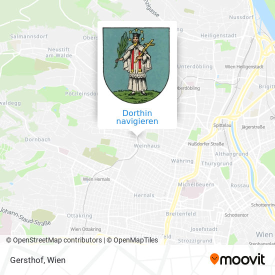 Gersthof Karte