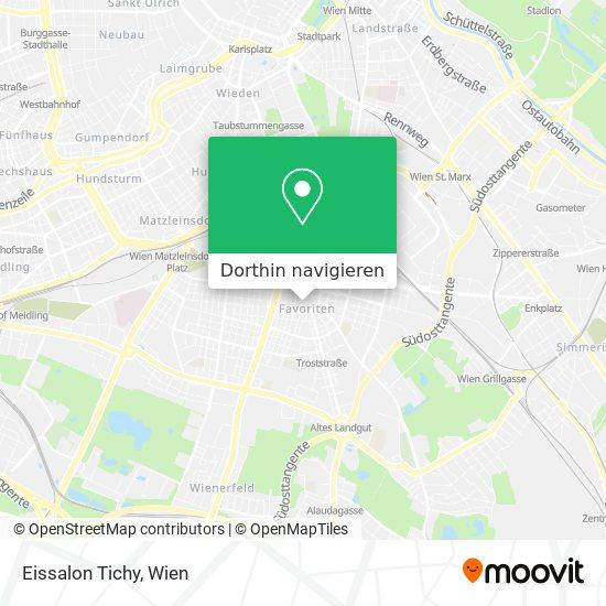 Tichy-Eis Karte