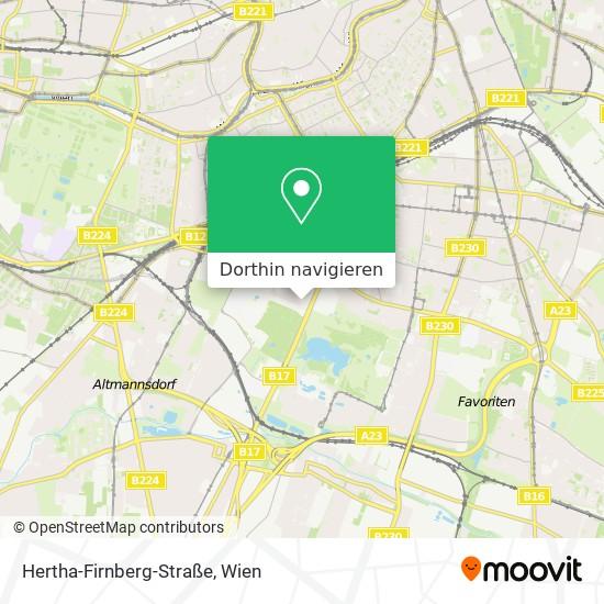 Hertha-Firnberg-Straße Karte