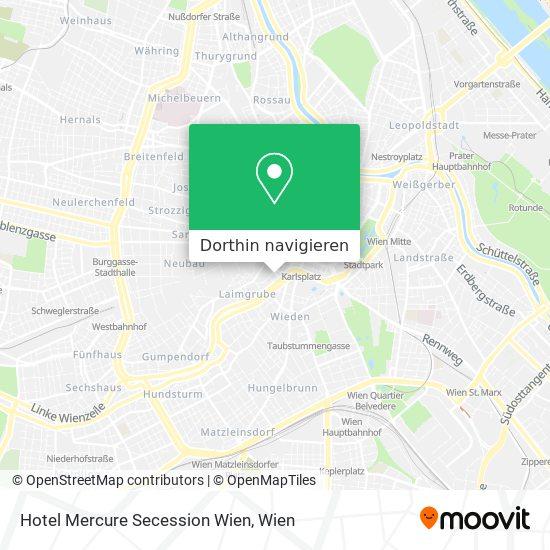 Hotel Mercure Secession Wien Karte