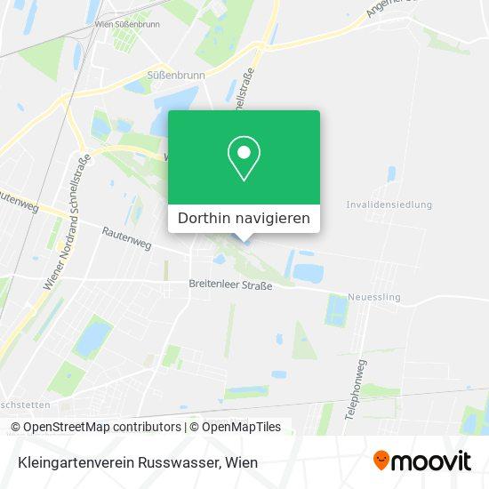 Kleingartenverein Russwasser Karte