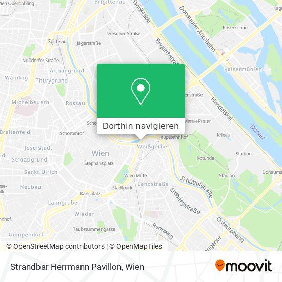 Strandbar Herrmann Pavillon Karte