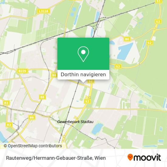 Rautenweg / Hermann-Gebauer-Straße Karte