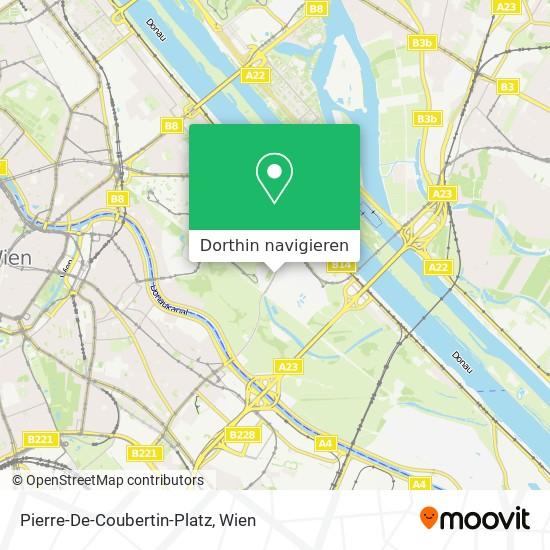 Pierre-De-Coubertin-Platz Karte