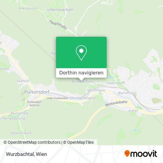 Wurzbachtal Karte