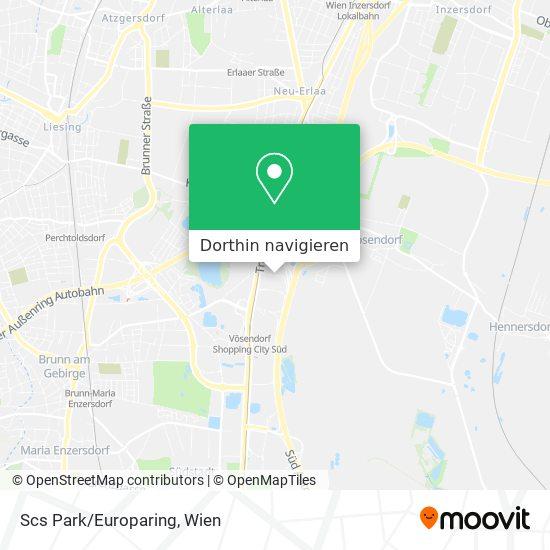 Scs Park/Europaring Karte
