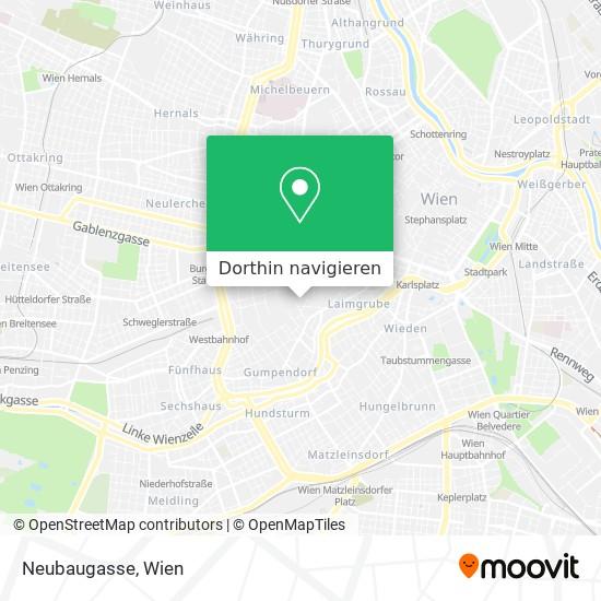 Neubaugasse Karte