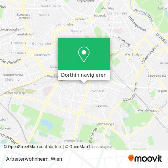 Arbeiterwohnheim Karte