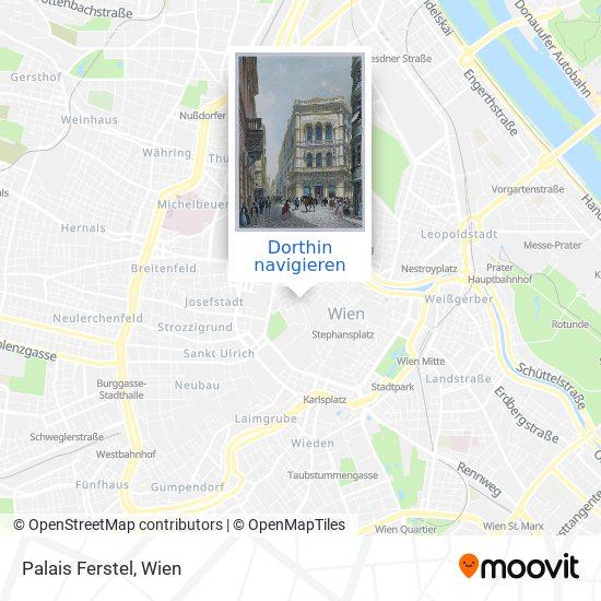 Palais Ferstel Karte