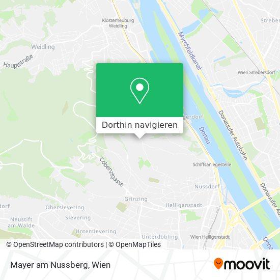 Mayer Am Nussberg Karte