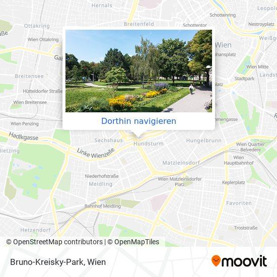 Bruno-Kreisky-Park Karte