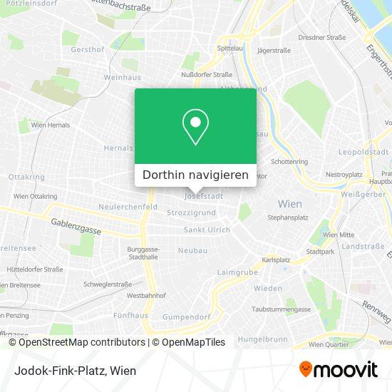 Jodok-Fink-Platz Karte