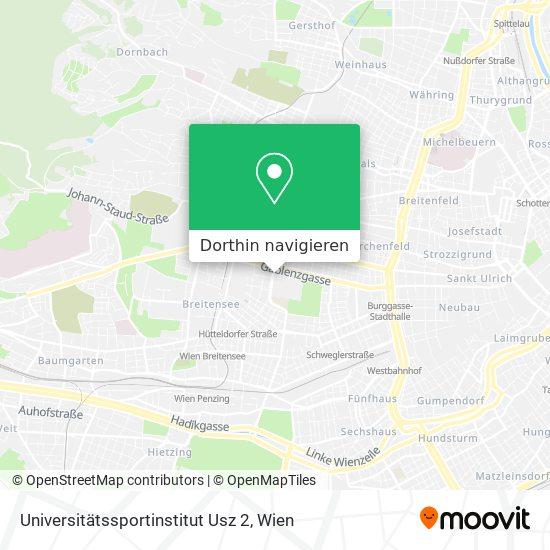 Universitätssportinstitut Usz 2 Karte