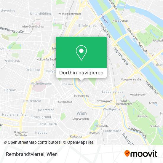Rembrandtviertel Karte