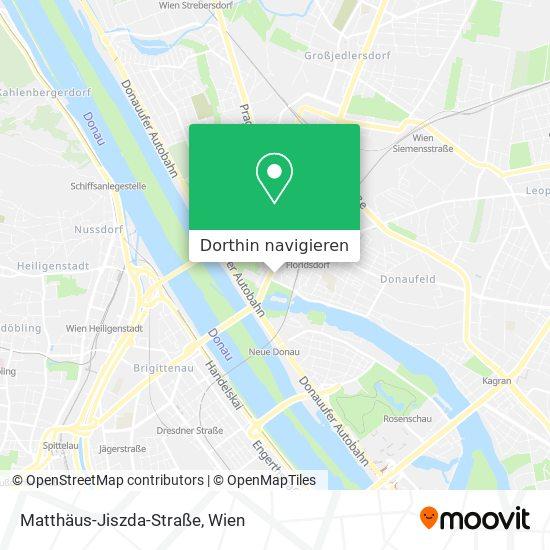 Matthäus-Jiszda-Straße Karte