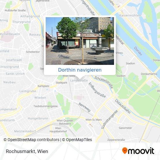 Rochusmarkt Karte