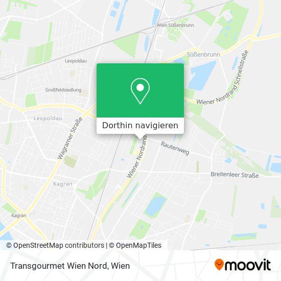 Transgourmet Wien Nord Karte
