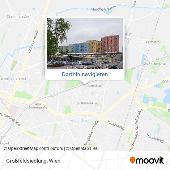 Großfeldsiedlung Karte