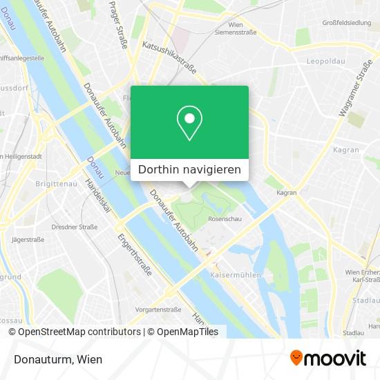 Donauturm Karte