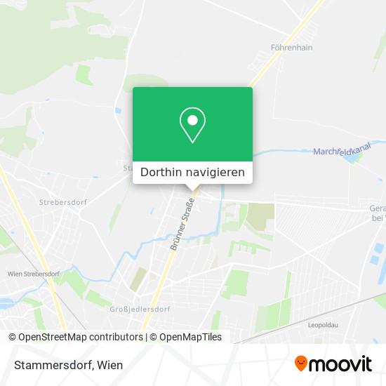 Stammersdorf Karte