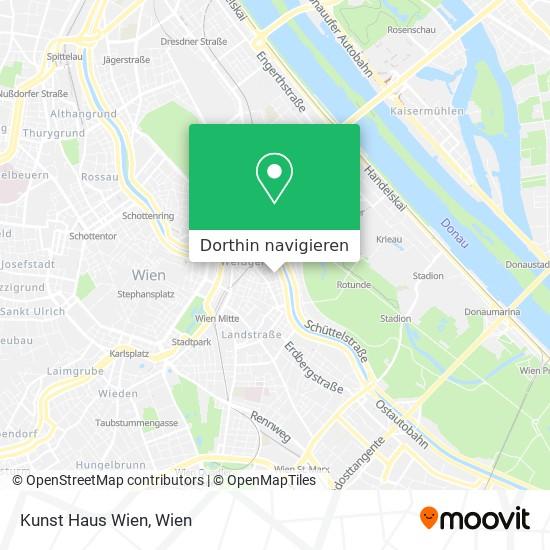 Kunst Haus Wien Karte