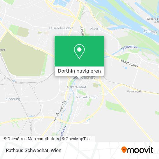 Rathaus Schwechat Karte