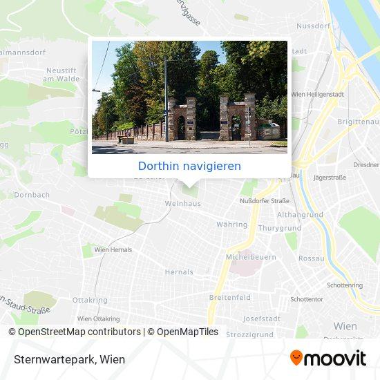 Sternwartepark Karte
