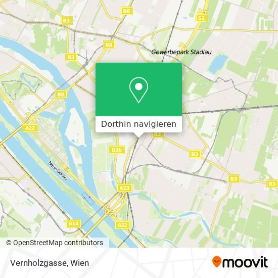 Vernholzgasse Karte