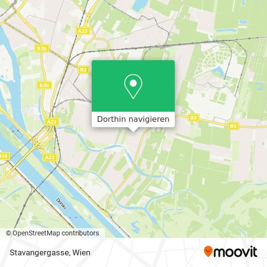 Stavangergasse Karte