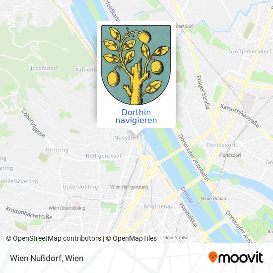 Wien Nussdorf Karte