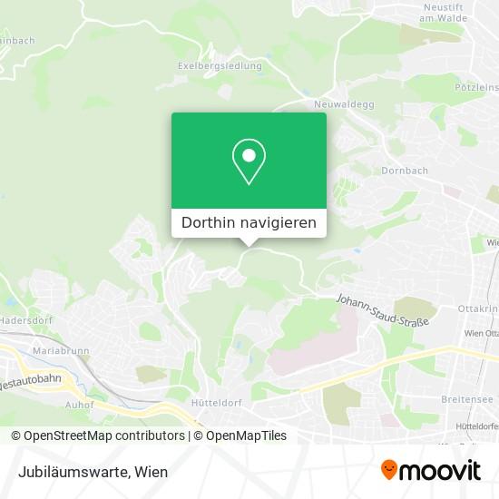 Jubiläumswarte Karte