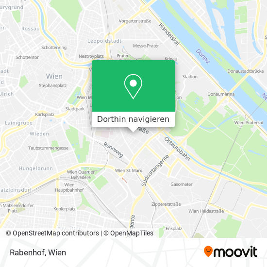 Rabenhof Karte