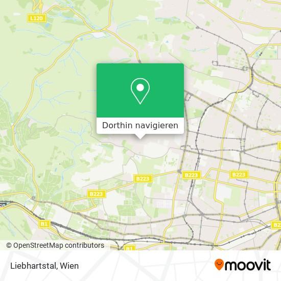 Liebhartstal Karte