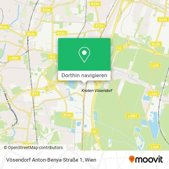Vösendorf Anton-Benya-Straße 1 Karte