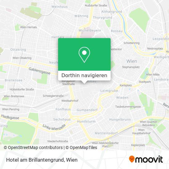 Hotel Am Brillantengrund Karte