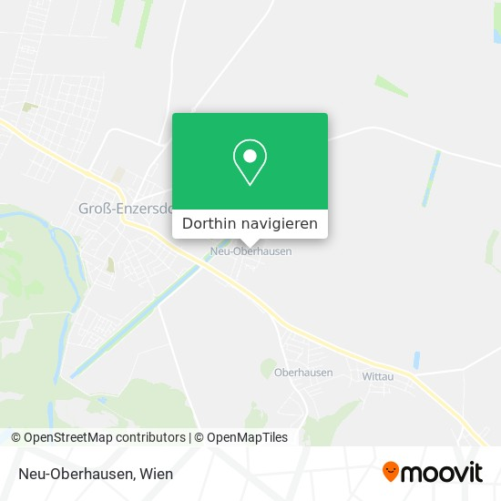 Neu-Oberhausen Karte