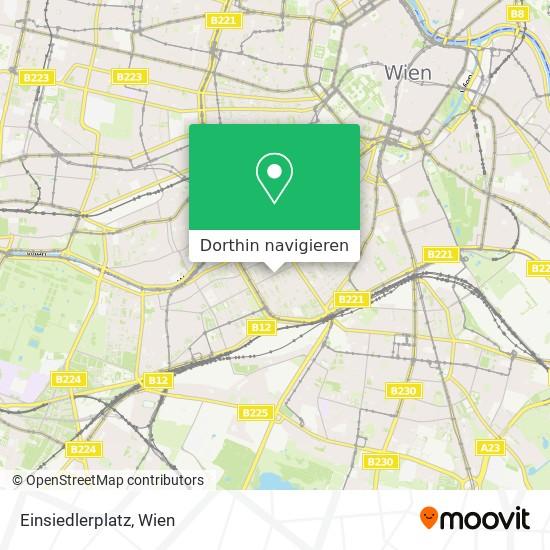 Einsiedlerplatz Karte