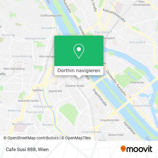 Cafe Susi 888 Karte
