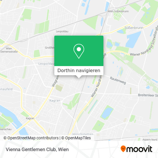 Vienna Gentlemen Club Karte