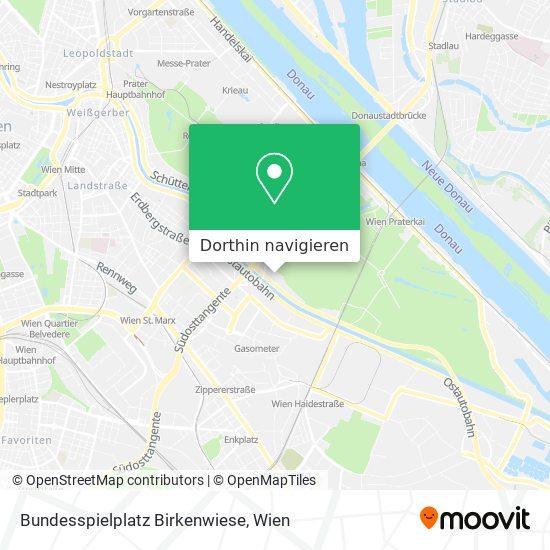 Bundesspielplatz Birkenwiese Karte