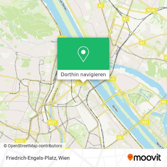 Friedrich-Engels-Platz Karte
