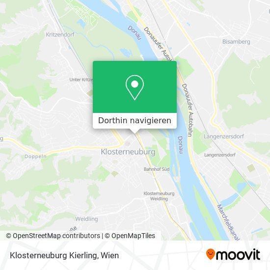 Klosterneuburg Kierling Karte