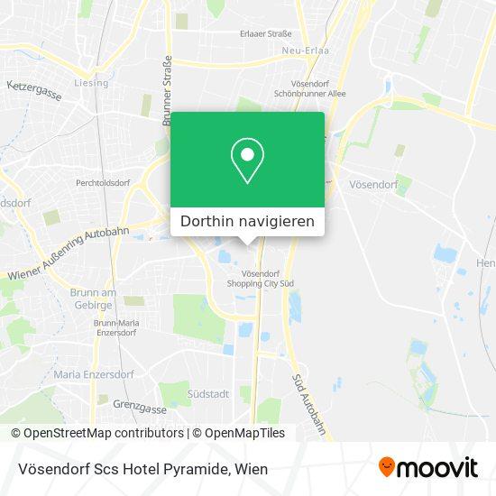 Scs Hotel Pyramide Karte