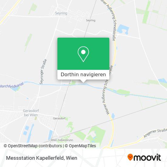Messstation Kapellerfeld Karte