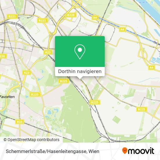 Schemmerlstraße / Hasenleitengasse Karte
