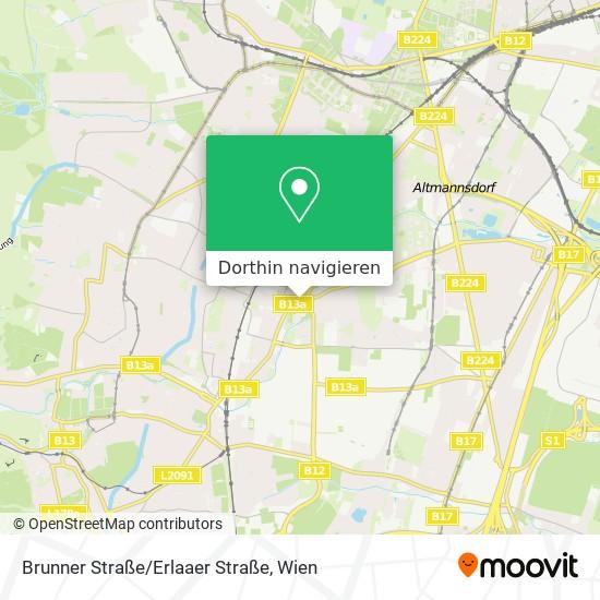 Brunner Straße/Erlaaer Straße Karte