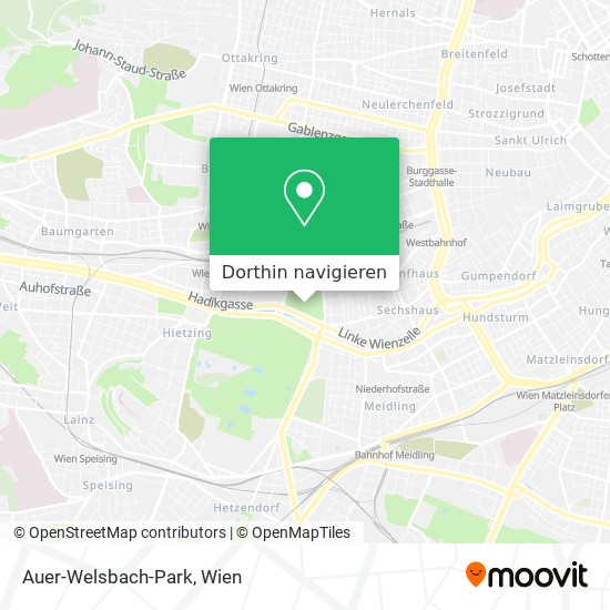 Auer-Welsbach-Park Karte